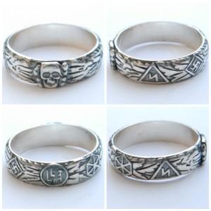 SS Totenkopf ring replica for sale