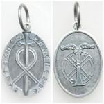 Ahnenerbe silver pendant