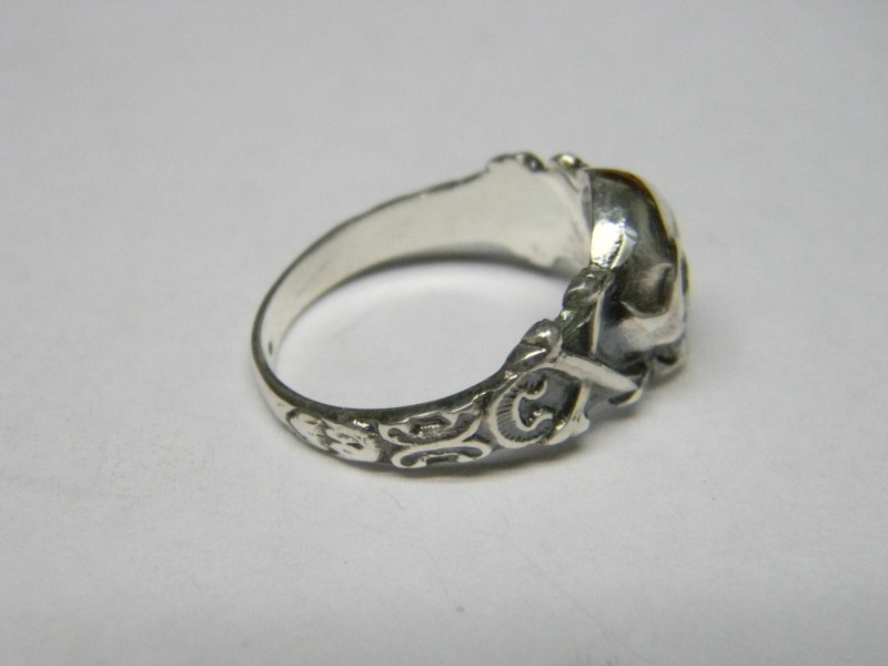 german wwii skull ring - German Wedding Rings