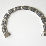Silver bracelet with ss runes