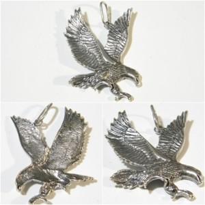 German World War Two Luftwaffe EM or Officer Visor Hat Silver Eagle.