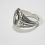Fasces Italian Sterling Silver Ring 2