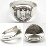 German Wehrmacht solders ring