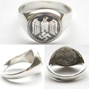 German Wehrmacht solders ring