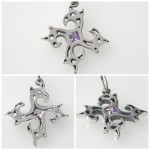 Griffin pendant Sterling Silver