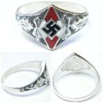 Hitler Jugend Silver Ring