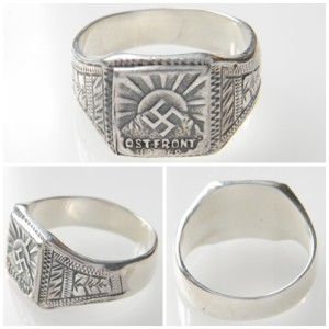 Ostfront German Wehrmacht solders ring