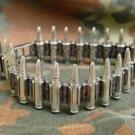 Silver bracelet Bullets