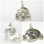 Silver pendant  Totenkopf