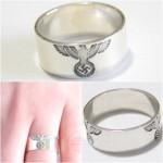 WW II Reichsadler of Nazi Germany silver ring