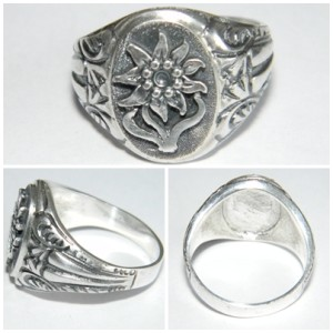 WWI Narvik Silver Ring