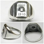 WWII German Stahlhelm Ring