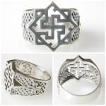 Walkiria silver ring