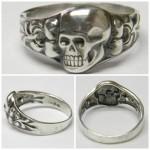 WWII SS Death Head ring German rings