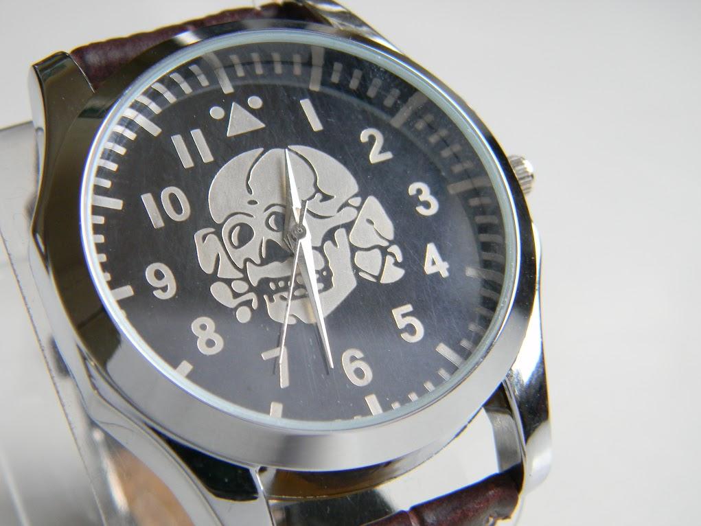 Wwii Vintage German Wehrmacht Watch With Skull