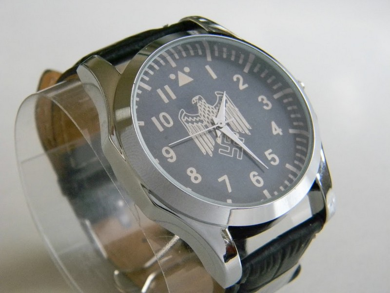 Wwii Vintage German Watch With Wehrmacht Eagle Copy