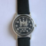 WW2 VINTAGE Mechanical Wehrmacht Watch