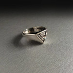 Viking valknut ring
