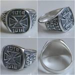 Rings German Iron Cross Silver