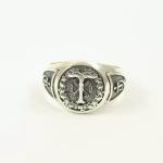 WW II German silver ring Ahnenerbe