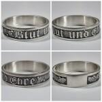 Blut und Ehre silver ring